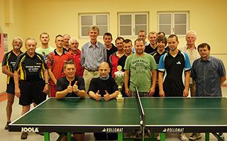 Tischtenniswettkampf 2012  SV Diera - MSV 08