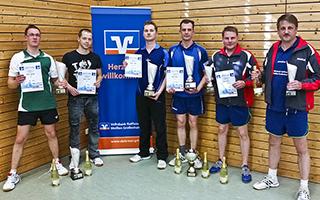 Volksbankcup Tischtennis 2014 Siegerehrung